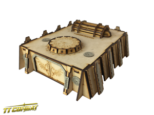 TTCombat-Si-Fi-Gothic-SFG037-Fortified-Power-Station-great-for-40K