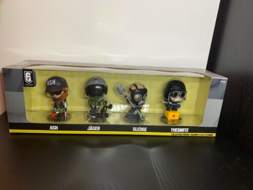 New Ubisoft Rainbow Six Siege Chibi Collectible Vinyl Figure 6 Series 1 4 Pack