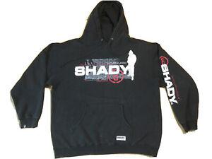 Shady-LTD-hoodie-L-black-Eminem-slim-thrashed-beat-up-hip-hop-rap-sweatshirt