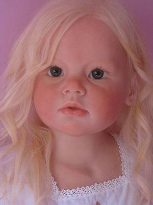 Reborn custom made Angelica Gabriella baby 5 67 child doll Reva Schick lifelike    eBay