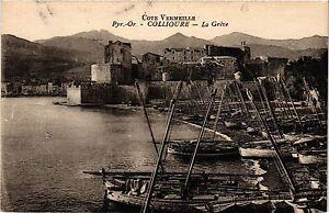 CPA-Cote-Vermeille-Pyr-Or-Collioure-La-Greve-451381
