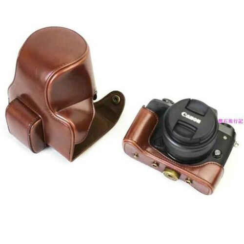 Para Canon EOS m5 Cámara Bolsa De Cuero Caso m50 especial Bolsa De Cámara m5 Estuche De Cuero