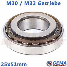 25x51mm Lager M32 Getriebe M20 Eingangswelle 25mm Opel Zafira B Astra H Meriva B