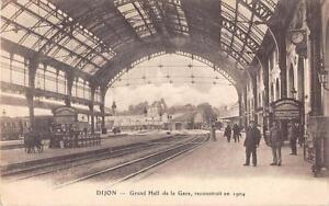 CPA-21-DIJON-GRAND-HALL-DE-LA-GARE
