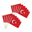 Turkey 12x18in Stick Flag Turkish Flag Turkish People Support Turkey