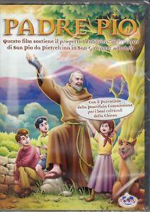 Dvd cartoon cartoni animati frate santo pietrelcina padre pio fra