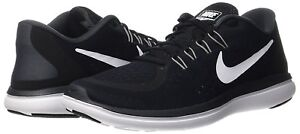 3c46e050c722f Nike Flex 2017 RN Sz 10.5 Black White-Anthracite Men s Running Shoes ...