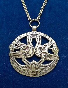 Kalevala koru kk finland bronze pendant with chain kuhmoisten kukot kalevala koru kk finland bronze pendant with chain aloadofball Gallery
