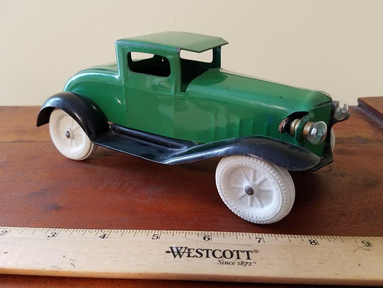 Vintage Wyandotte Marx Pressed Steel Steel Steel Sedan Car Toy Lot USA mar old toy antique 80c392