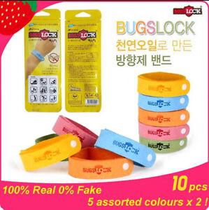 10 Pcs Orted Colours Korea Bugslock