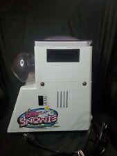 Little Snowie Snow Cone Slushy Machine Maker Shaved Ice Crusher Blizzard Slushie