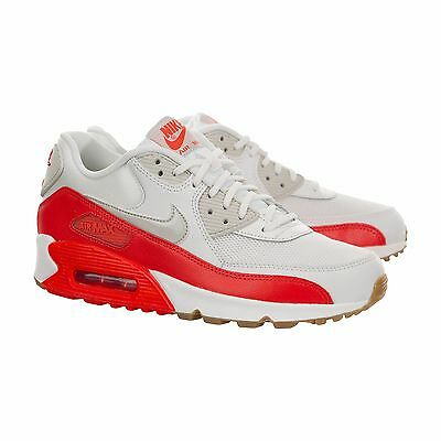 Nike Women's Air Max 90 Essential Running WhiteCrimson 616730 113 Sz 5 8.5 | eBay