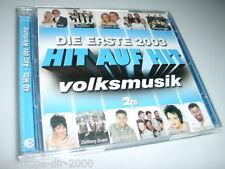 HIT AUF HIT VOLKSMUSIK 03 DIE ERSTE 2 CD'S MIT BERGFEUER HEINTJE SIMONS BIANCA