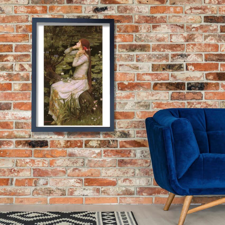 John William Waterhouse - Ophelia 1894 Wall Art Poster Print