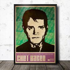 Chet Baker Art Poster Music Jazz Blue Note coltrane Sun Ra miles davis
