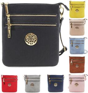 fce683e3ea5f0 Details about UK Ladies Small Cross Body Messenger Bag Women Shoulder Over  Bags Handbags