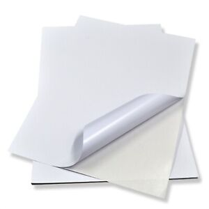 Waterproof-Sticker-Vinyl-Paper-Matte-White-A4-Size-20-Sheets-For-Inkjet-Printer