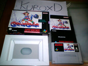 SUPER-NINTENDO-SNES-KID-KLOWN-IN-CRAZY-CHASE-PAL-ALEMAN