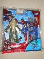 Spider-man & Lizard ( 5 ) ( 2011 ) Movie Dive Figures ( Marvel & Swimways )