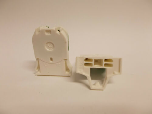 X10 Replacement G13 T8 Snap In Tombstone Fluorescent Lamp Holders Sockets