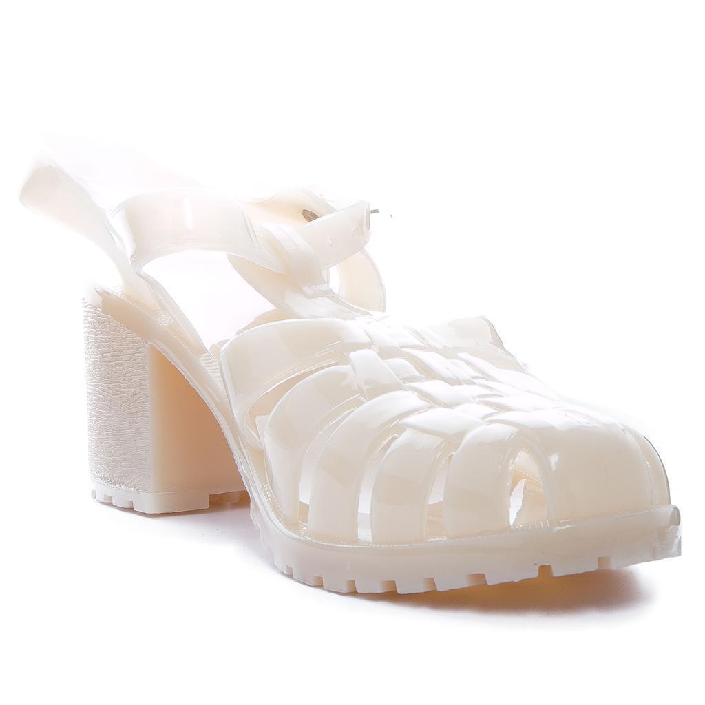 New Apricot Blue White Ladies Jelly Sandal Beachwear Shoes for Casual Wear Beachwear Sandal Etc 55615e