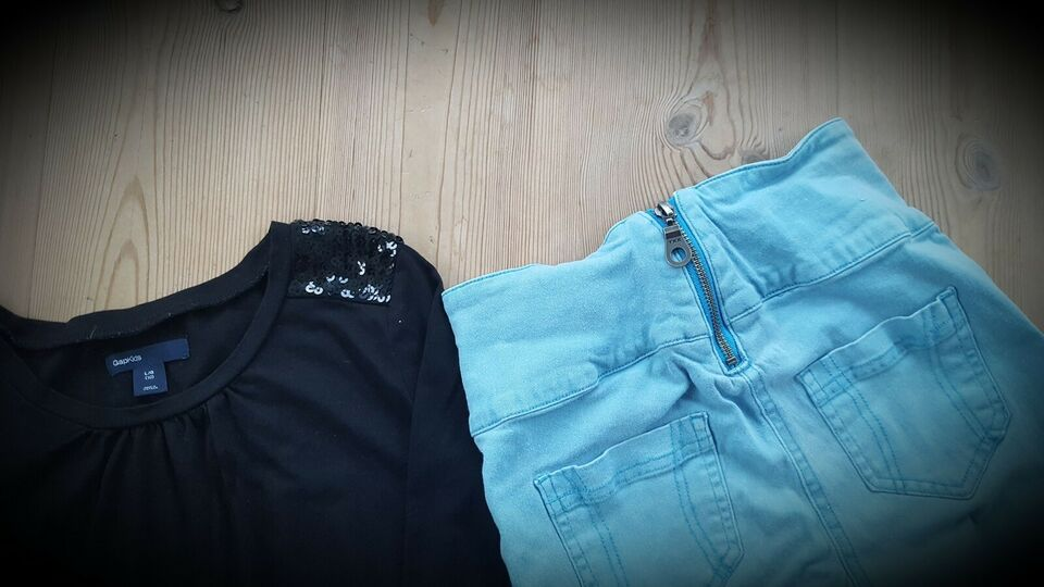 Sæt, Bluse og stretch jeans, D-Xel og Gap-Kids