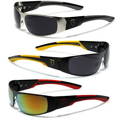 Sports Wrap Around Mens Womens Sunglasses Cycling Bike Running Ski Tennis Shades