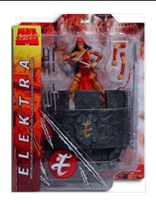 set figure 6 Legends toys SELECT MARVEL NICE ELEKTRA Netflix