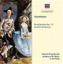 Tchaikovsky: String Quartets nos. 1-3; Souvenir de Florence (CD, Feb-2014,...