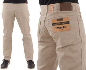 Wrangler-Herren-Jeanshose-Regular-Fit-Camel-W31-W42