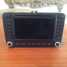 05 06 07 08 09 VW PASSAT GPS NAVIGATION DVD SCREEN CD RADIO 1K0035197B OEM