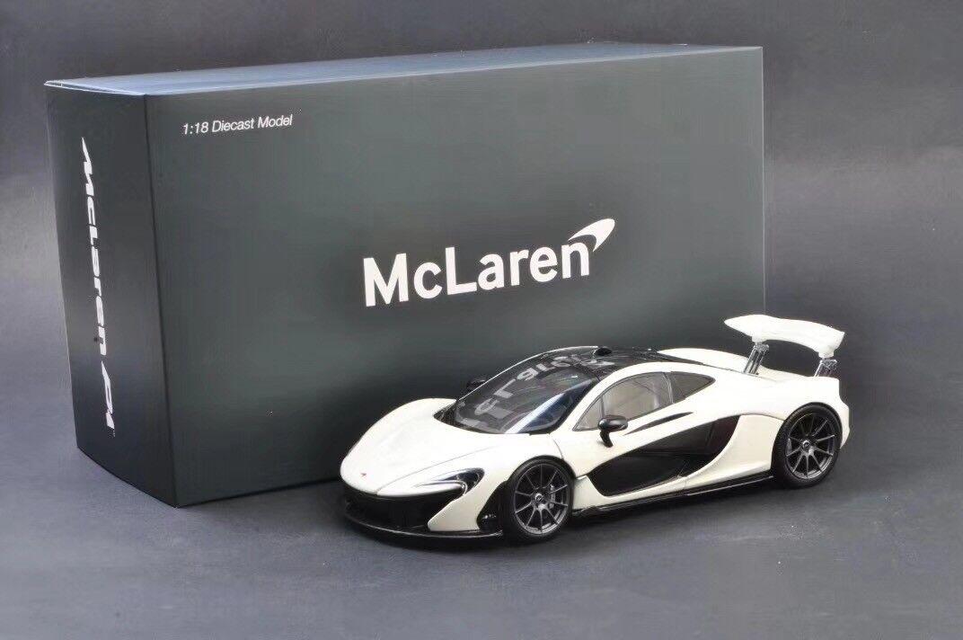 Mclaren 1   18 - modell mclaren p1 Weiß