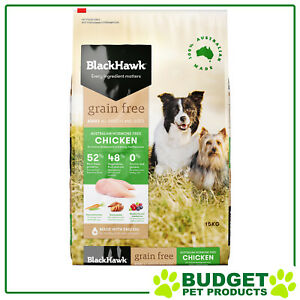 Black Hawk Grain Chicken Adult Dog Food 15kg