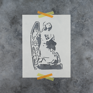 Reusable Stencils of Angel in Multiple Sizes Angel Stencil