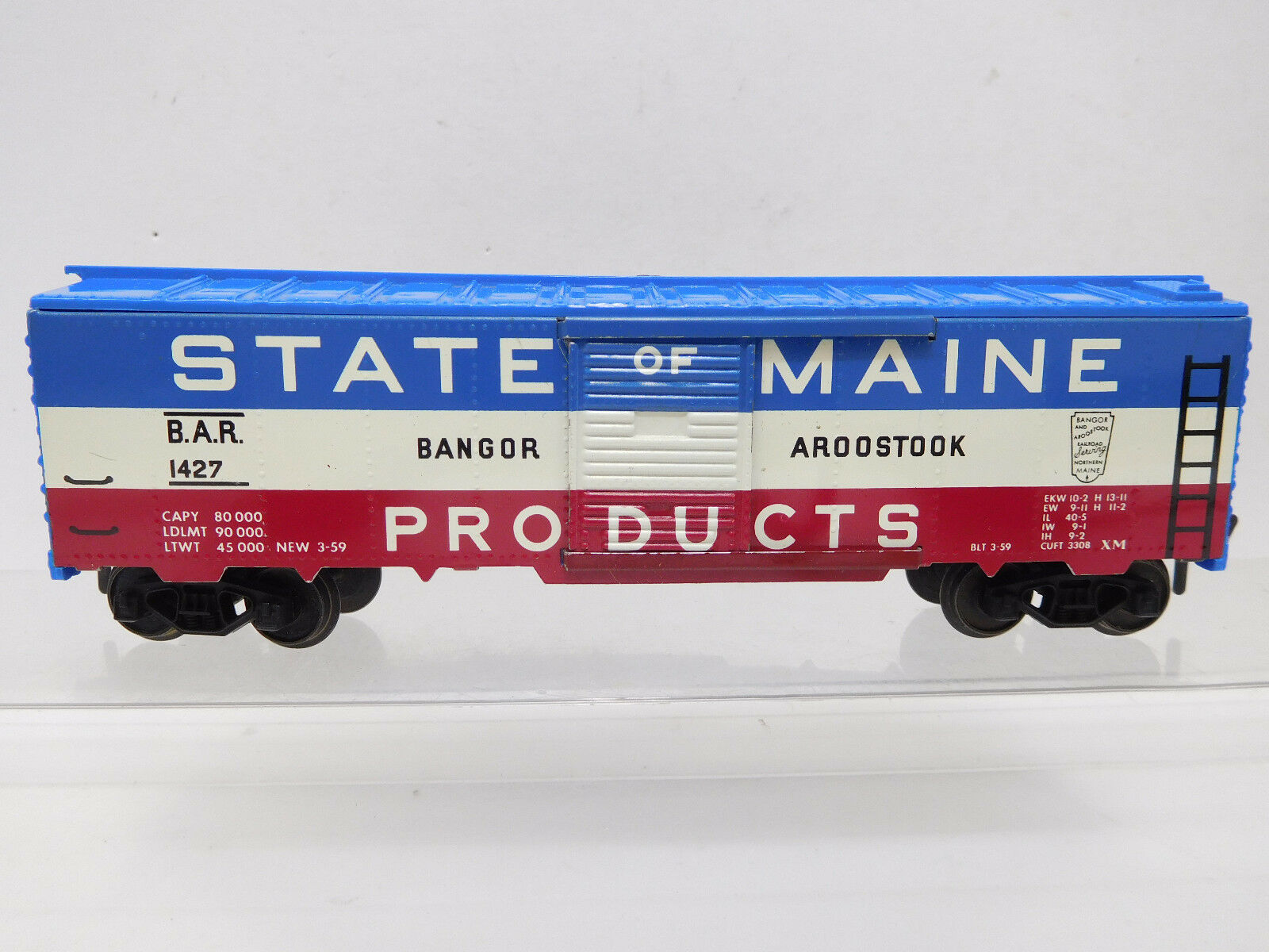 Mes-52566 Fleischmann h0 US freight cars State of Maine