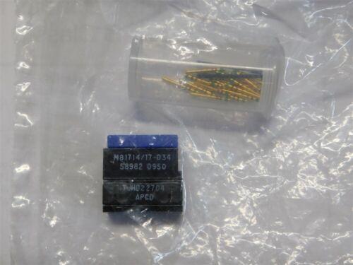 Amphenol PCD M81714//17-D34 TJHD22704 High Density Terminal Junction Module