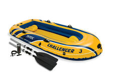 Intex 68370NP Challenger 3 Schlauchboot Set NEU & OVP