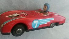VINTAGE TIN TOY FRICTIION CAR MF 800 CHINA RACER N7