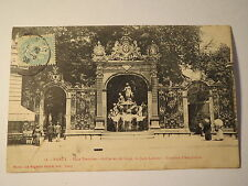 Nancy - Place Stanislas - Grilles en fer forgé de Jean Lamour - Fontaine / AK