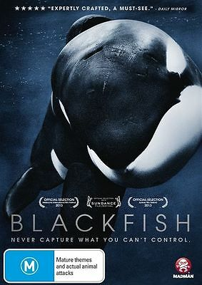 Blackfish DVD - R4 - Seaworld, orcas, killer whales, captivity, Tilikum, zoo,