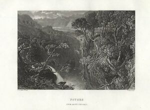 Scotland-FOYERS-FALLS-Loch-Ness-INVERNESS-Robert-Burns-FREEPOST