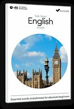 Eurotalk Talk Now English (British) for Beginners - Download option and a CD ROM