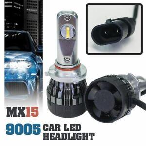 1-set-MX15-9005-Car-LED-Headlight-Driving-Light-Bulbs-Hi-Lo-Beam-White-6000K