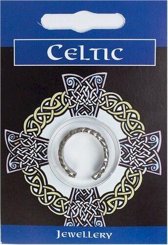 Anillo celta entrelazado-estaño