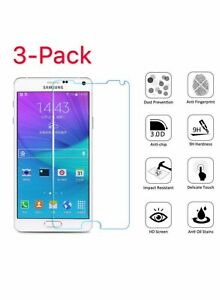 3-Pack-Premium-Real-Tempered-Glass-Screen-Protector-for-Samsung-Galaxy-Note-4