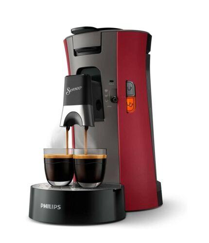 Philips Senseo Select CSA240//90 Kaffee-Pad-Maschine Memo-FunktionRot NEW Modell