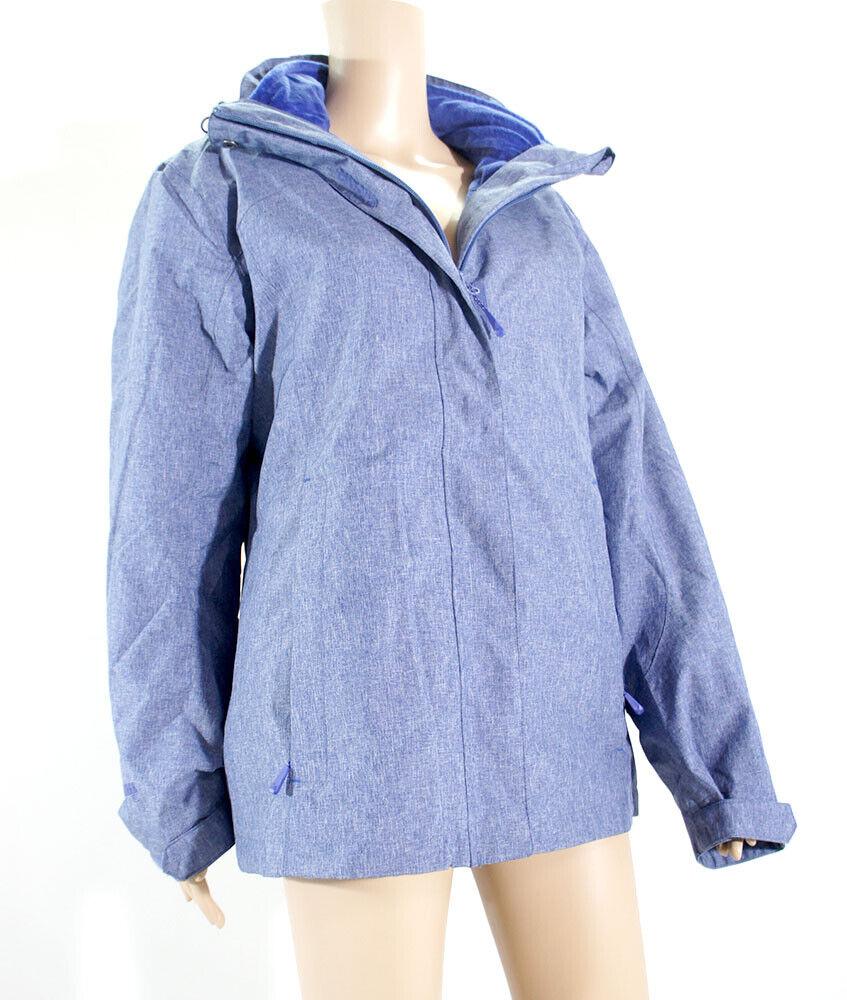 McKINLEY Damen Doppeljacke Hana Inlet Outdoor Wander Regen Freizeit Jacke blau L