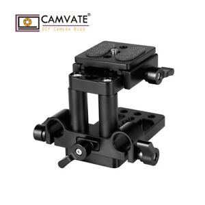 CAMVATE-ARCA-Swiss-QR-Mount-Base-Tripod-Baseplate-15mm-LWS-Rod-Clamp-for-Camera