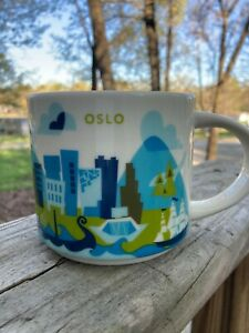 STARBUCKS You are Here Collection  OSLO COFFEE MUG 14 Oz Norway