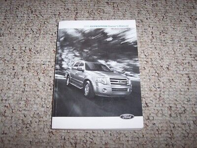 ford expedition owner operator user manual guide xlt